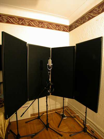 Realtraps Microphone Stand Mounting