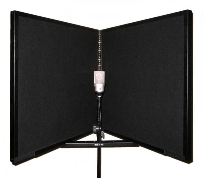 The RealTraps Portable Vocal Booth Is Perfect Solution For Capturing Vocals Clearly In Less Than Acoustic Spaces